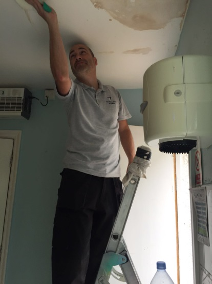 herts young homeless plumber